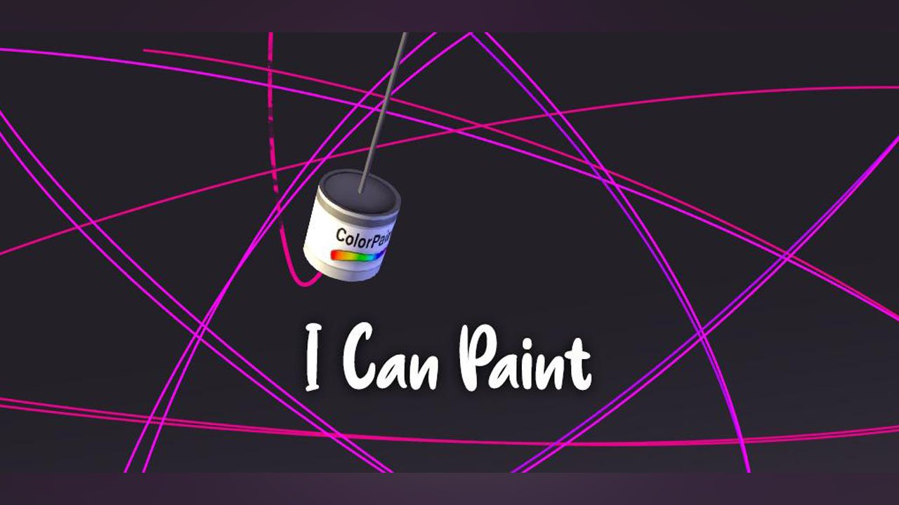 I Can Paint poster