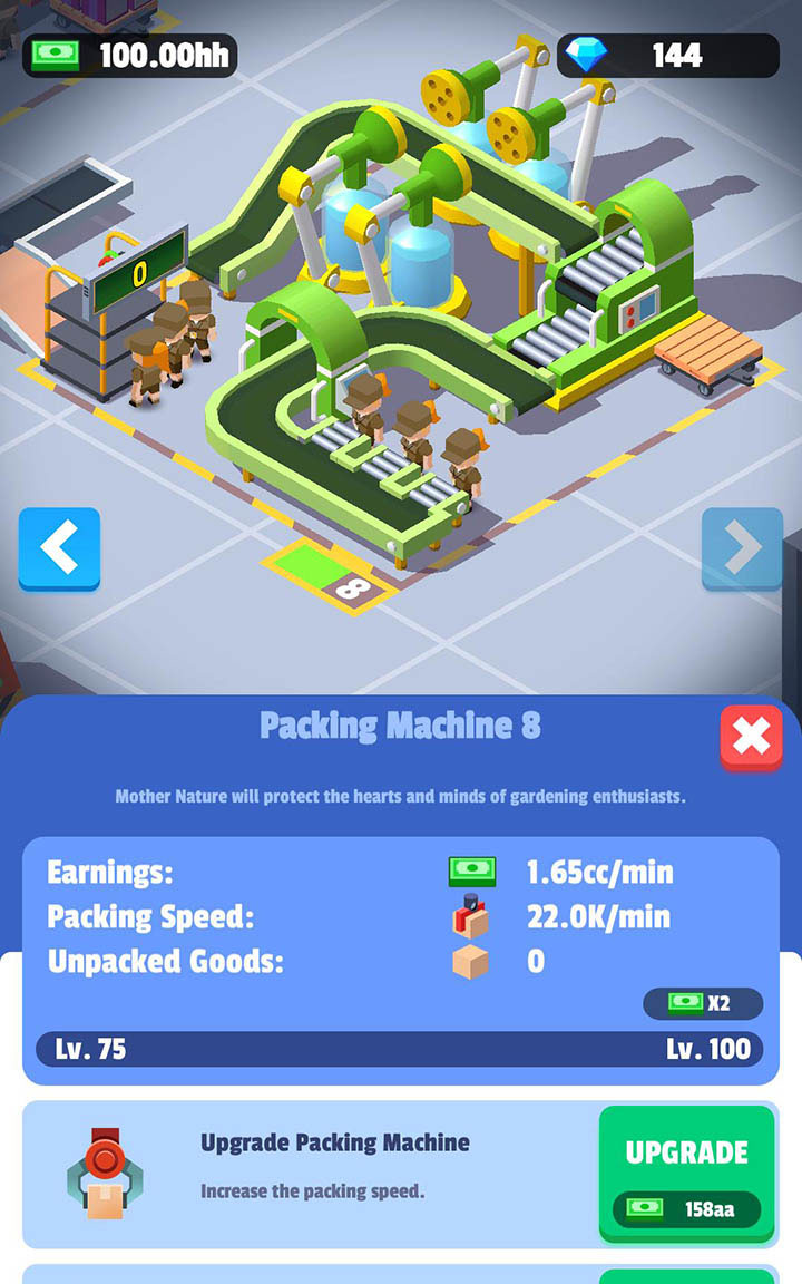Idle Courier Tycoon screen 6