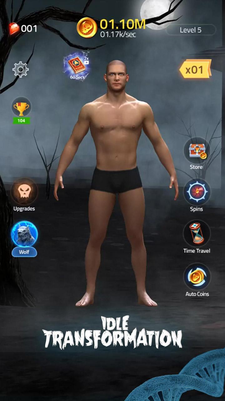 Idle Transformation screen 7