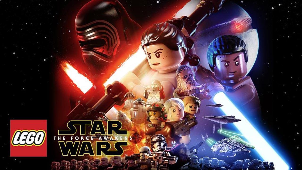LEGO Star Wars TFA poster
