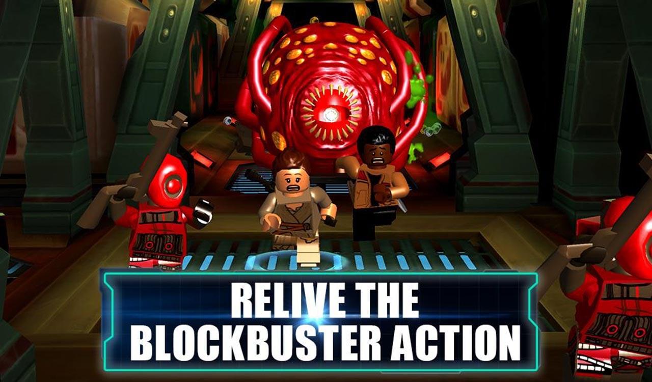 LEGO Star Wars TFA screen 1