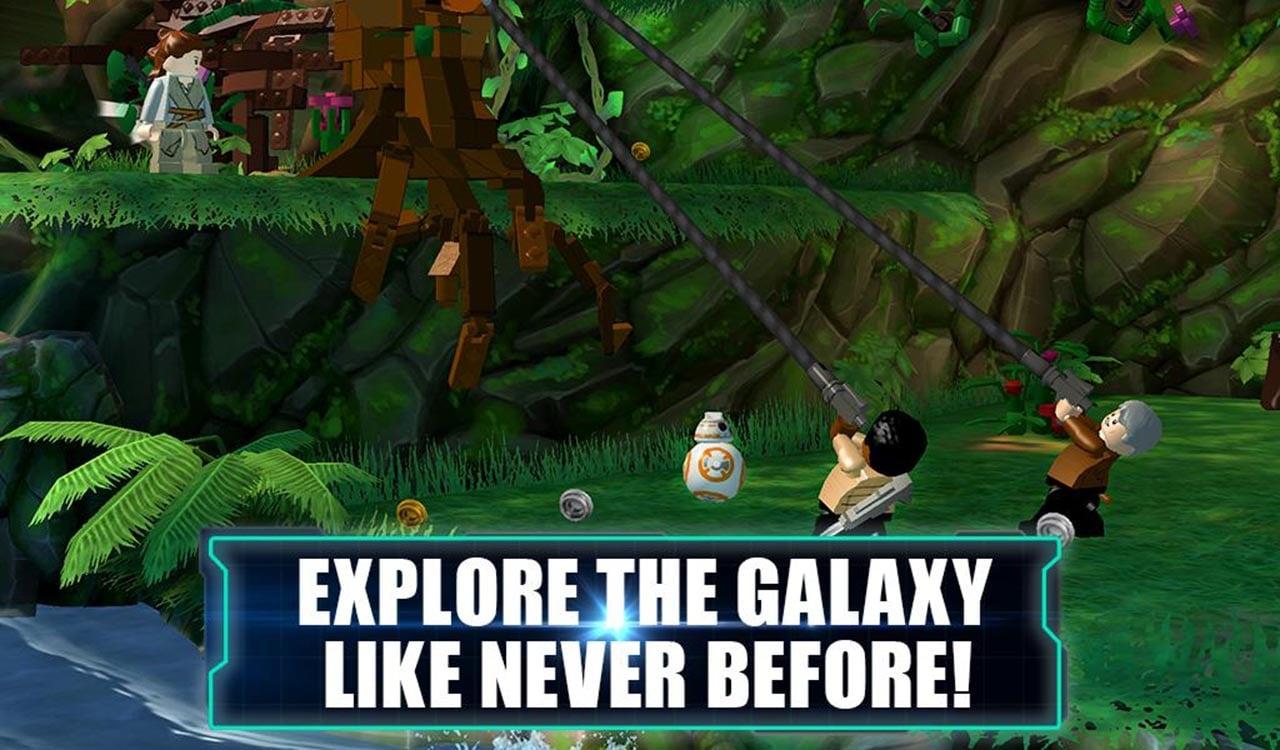 LEGO Star Wars TFA screen 2