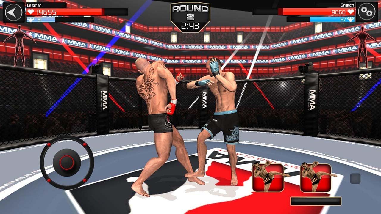 MMA Fighting Clash screen 2