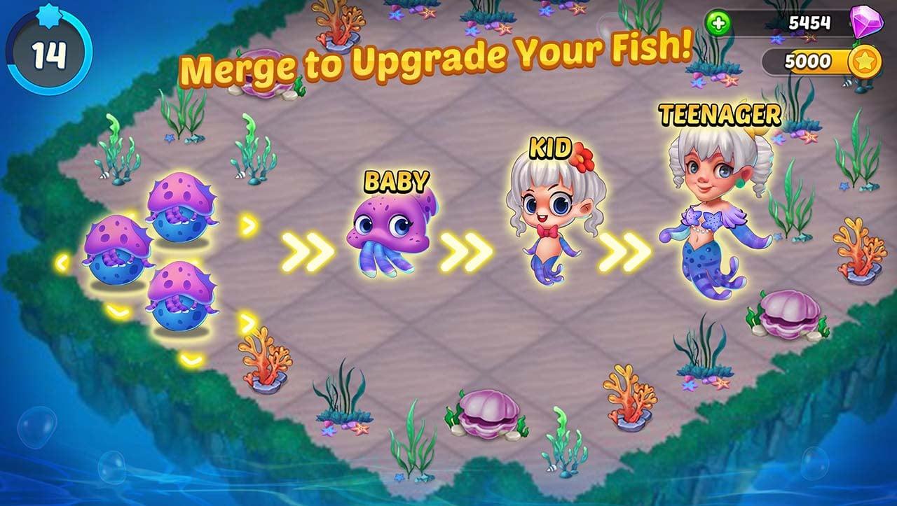 Merge Mermaids screen 2