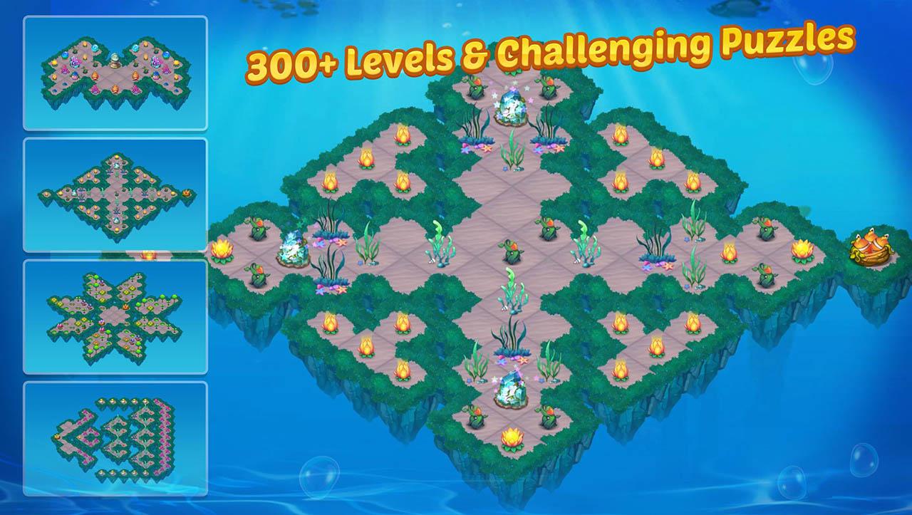 Merge Mermaids screen 3