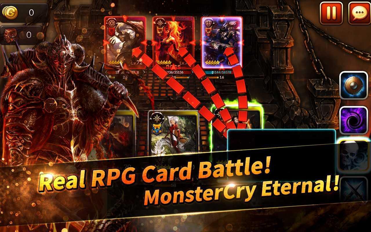 MonsterCry Eternal screen 0