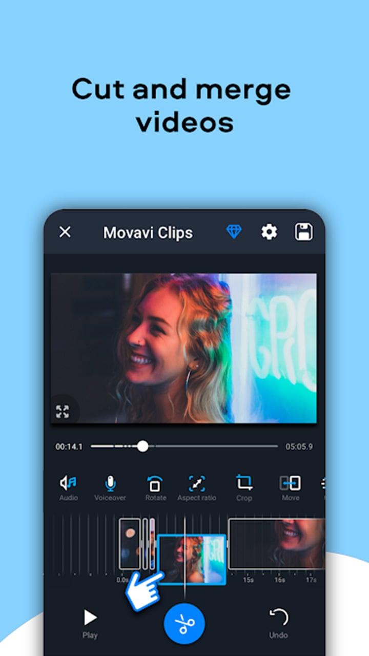 Movavi Clips screen 3