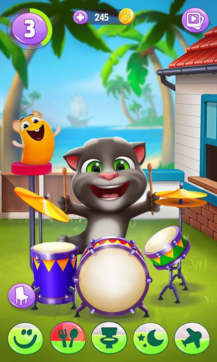 My Talking Tom 2 screen 0