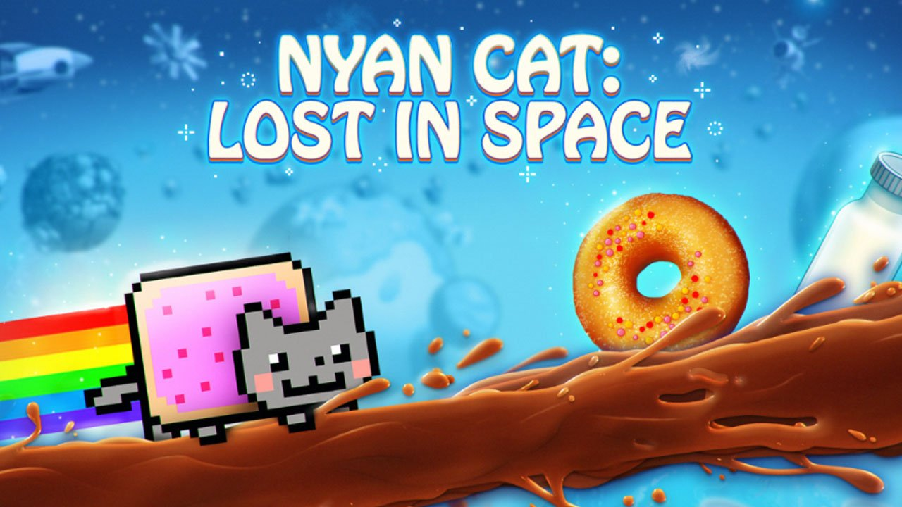 Nyan Cat Lost In Space poster