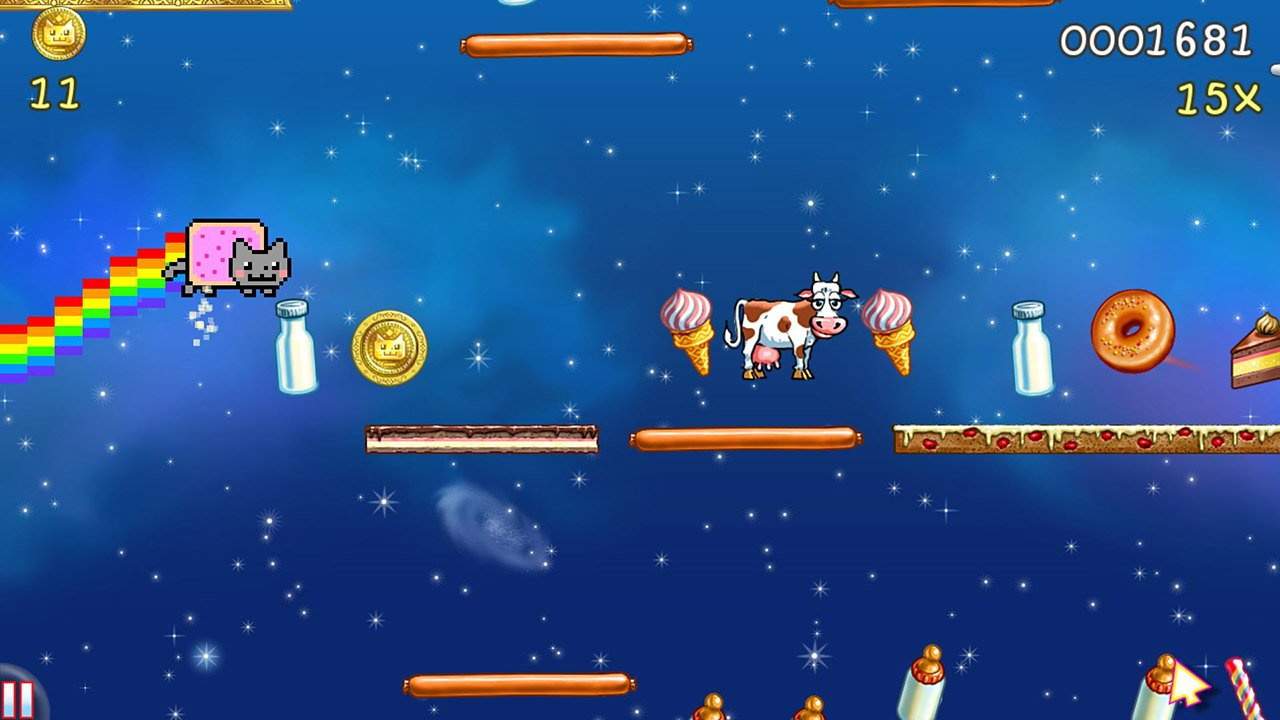 Nyan Cat Lost In Space screen 0
