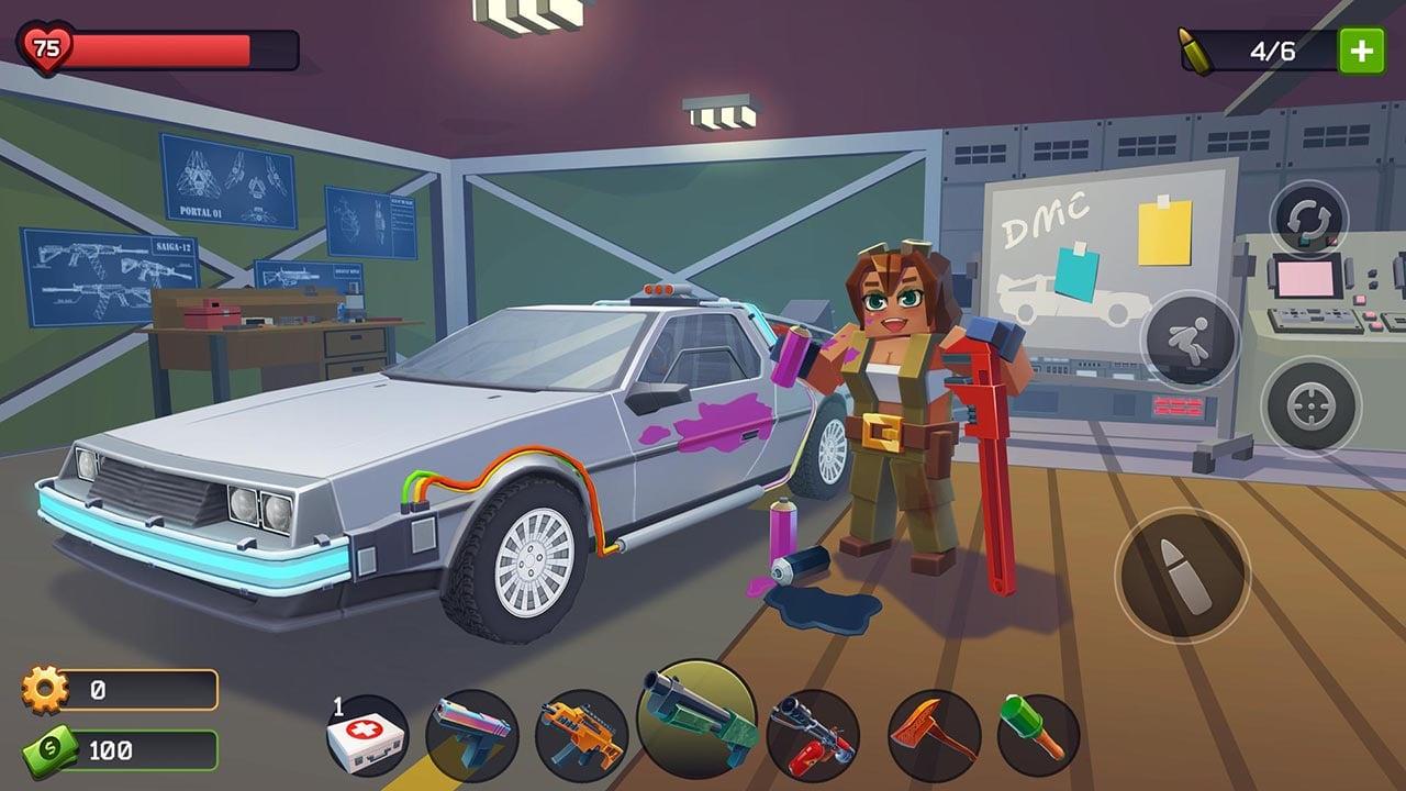 Pixel Combat Zombies Strike screen 2