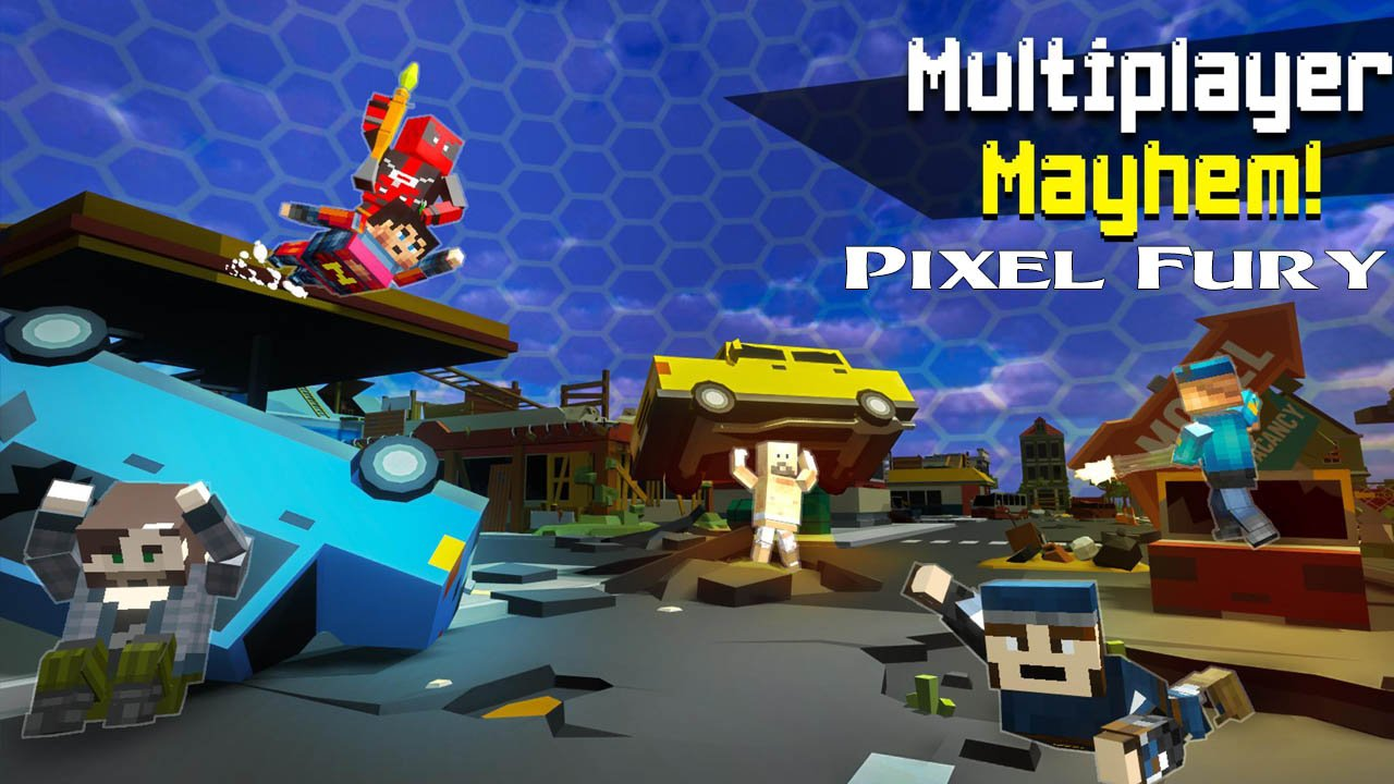 Pixel Fury poster