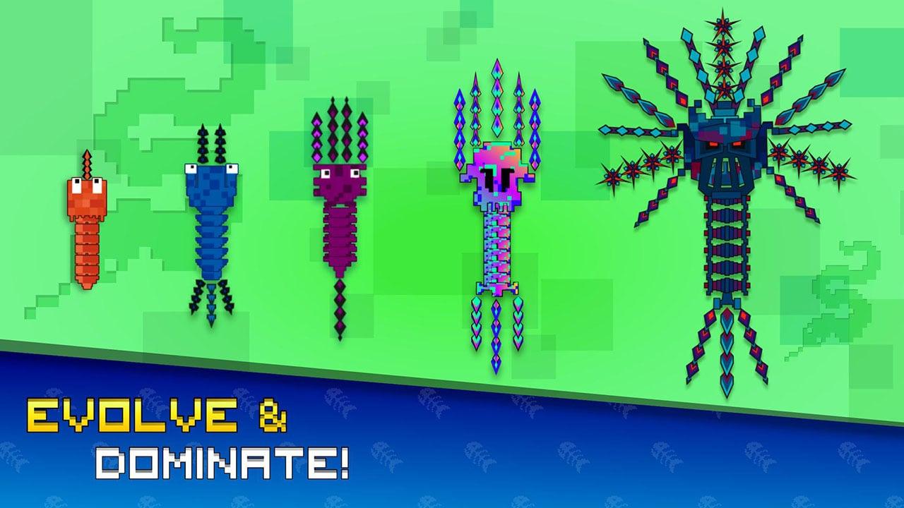 Pixel Sword Fish io screen 0
