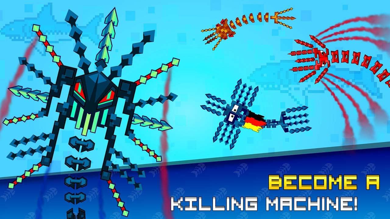 Pixel Sword Fish io screen 1