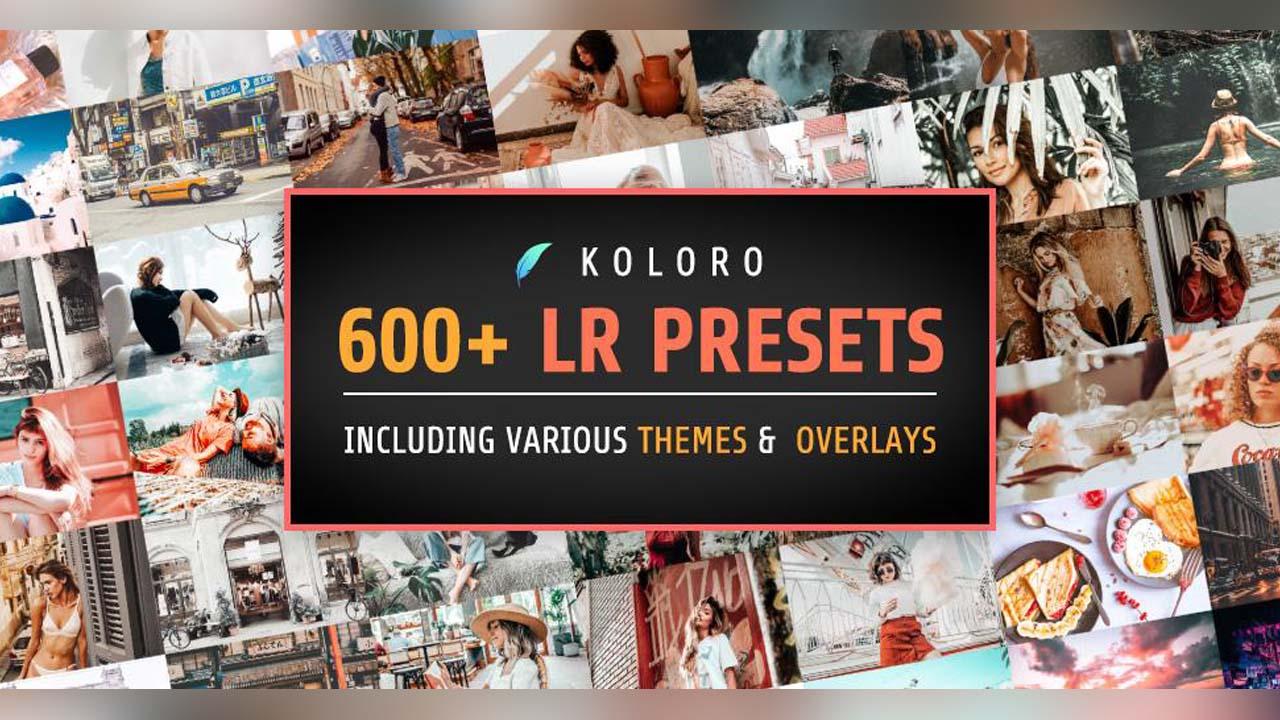 Presets for Lightroom mobile poster
