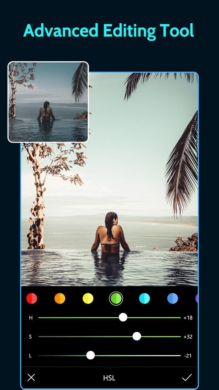 Presets for Lightroom mobile screen 3