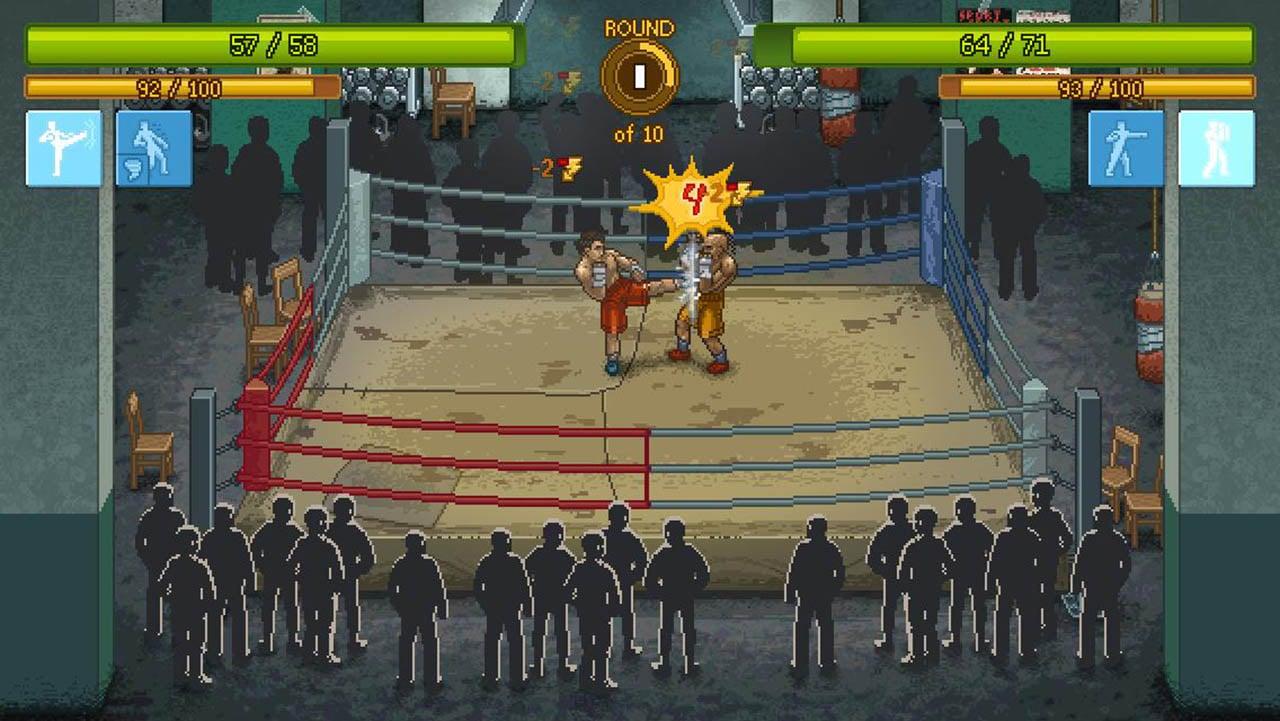 Punch Club screen 2