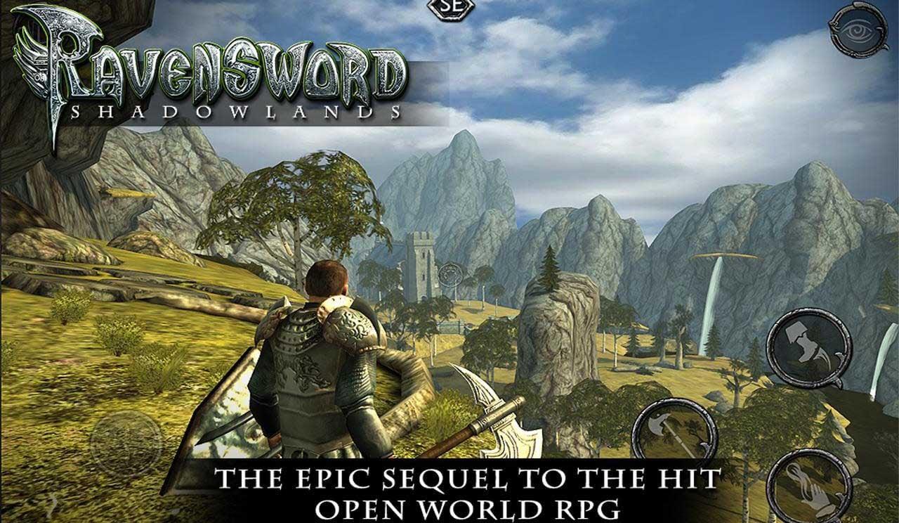 Ravensword Shadowlands screen 1