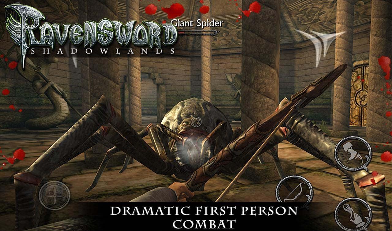 Ravensword Shadowlands screen 2