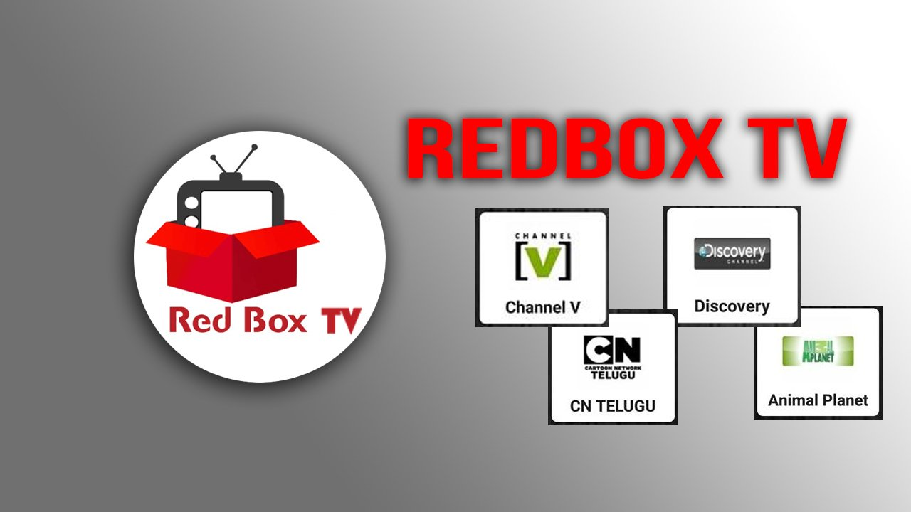 RedBox TV poster