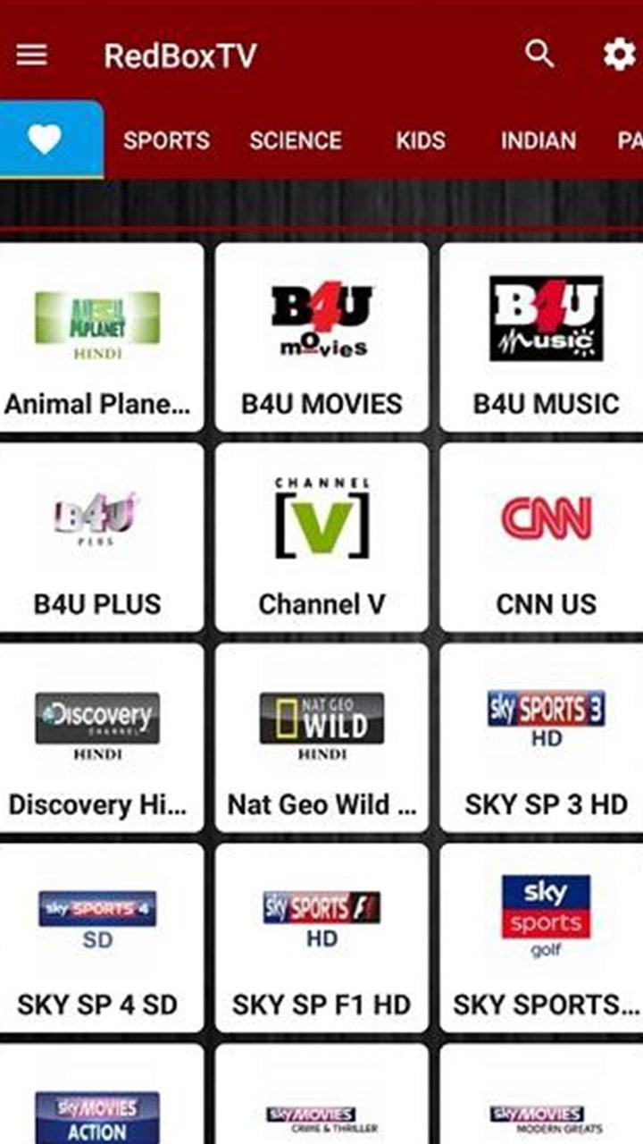 RedBox TV screen 7