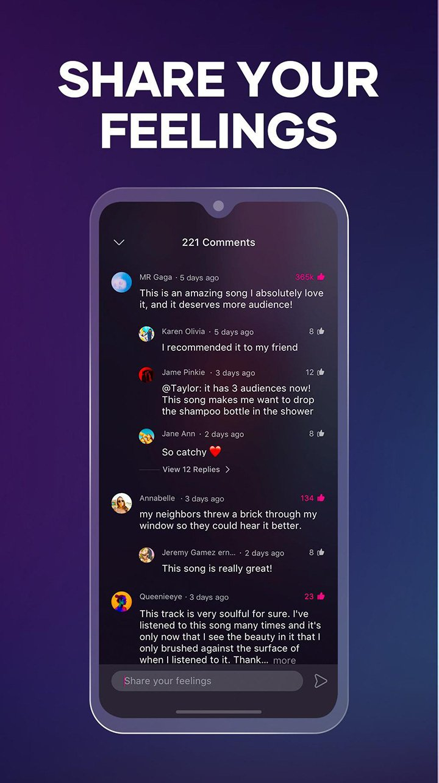 Resso screen 4