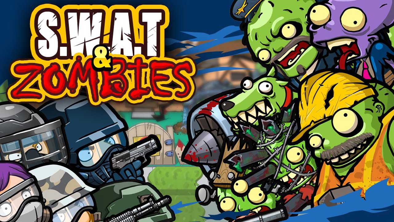 SWAT and Zombies poster