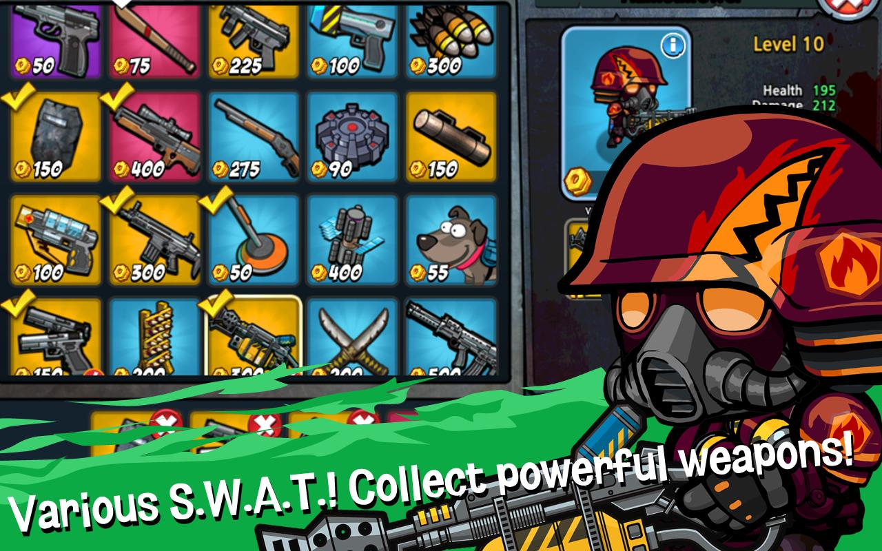 SWAT and Zombies screen 1