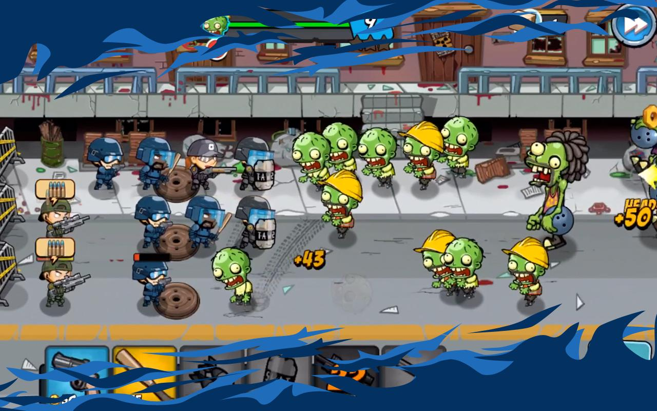 SWAT and Zombies screen 4