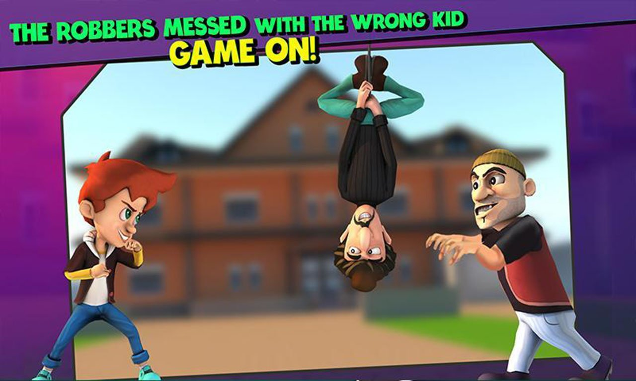 Scary Robber Home Clash screen 0