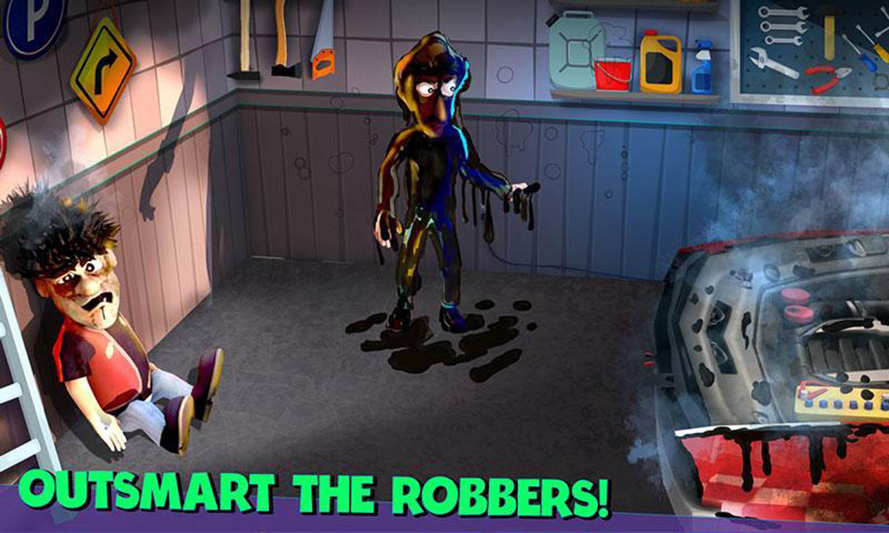 Scary Robber Home Clash screen 2