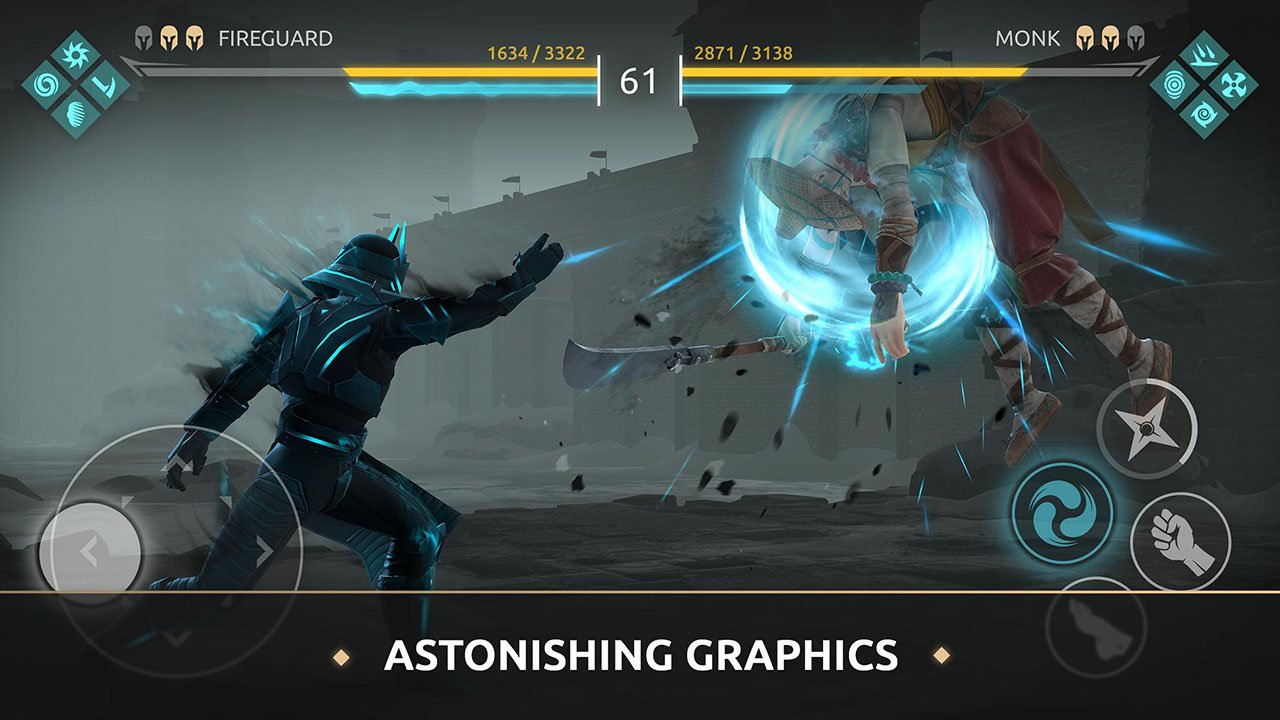 Shadow Fight Arena screen 1