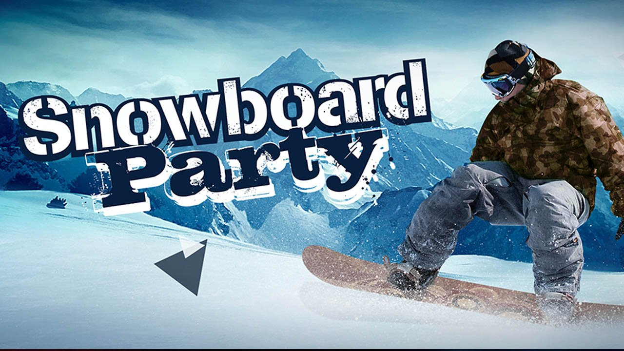 Snowboard Party poster