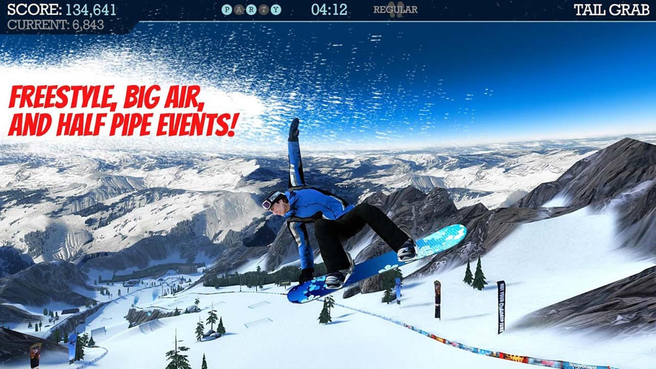 Snowboard Party screen 3