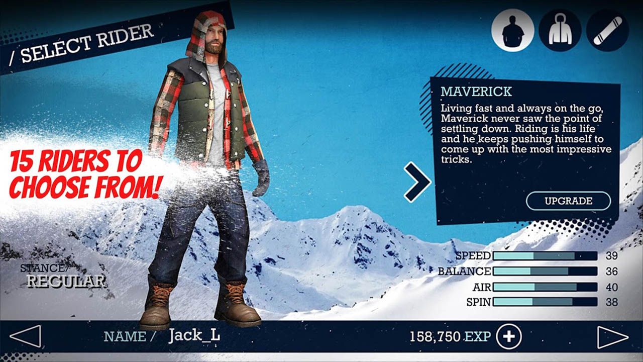 Snowboard Party screen 4