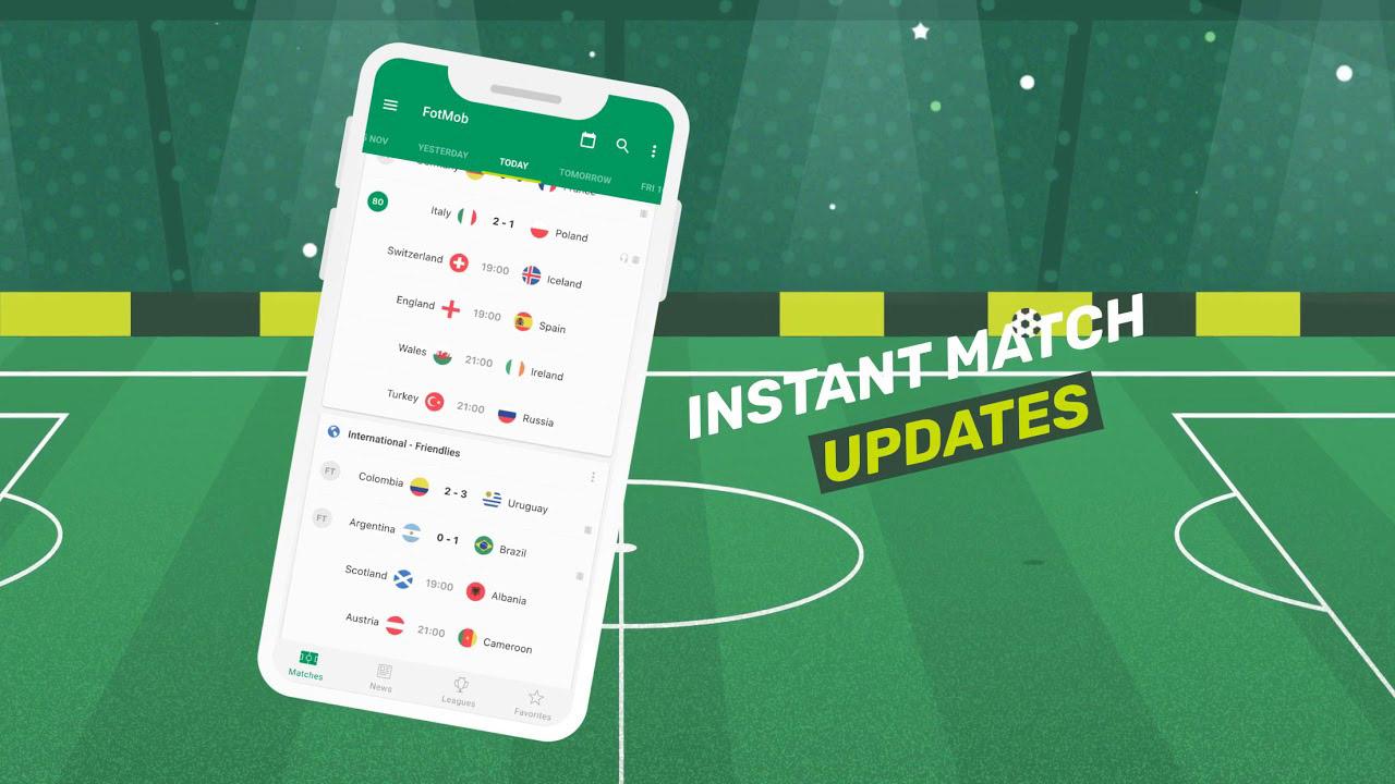 Soccer Scores FotMob poster