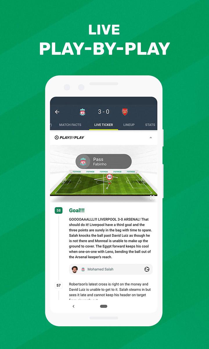 Soccer Scores FotMob screen 3