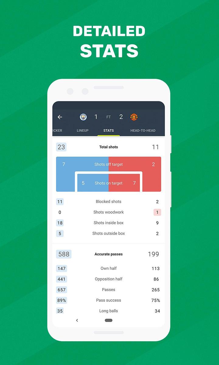 Soccer Scores FotMob screen 4