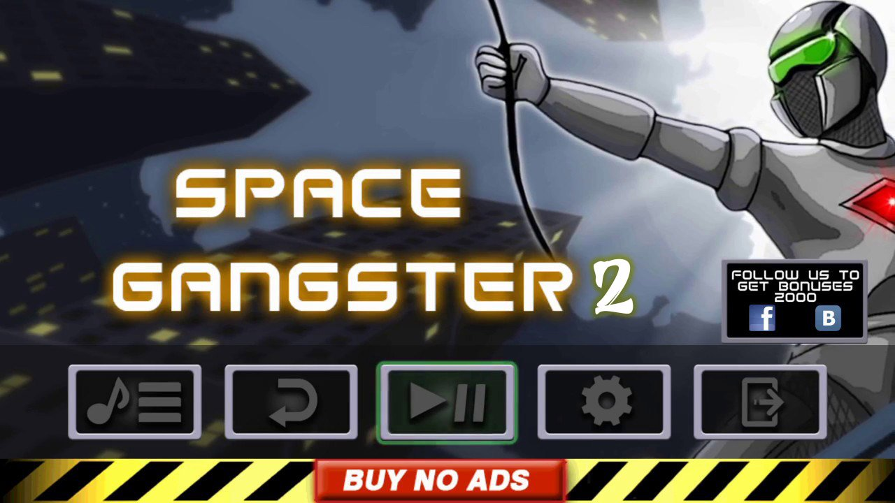 Space Gangster 2 poster