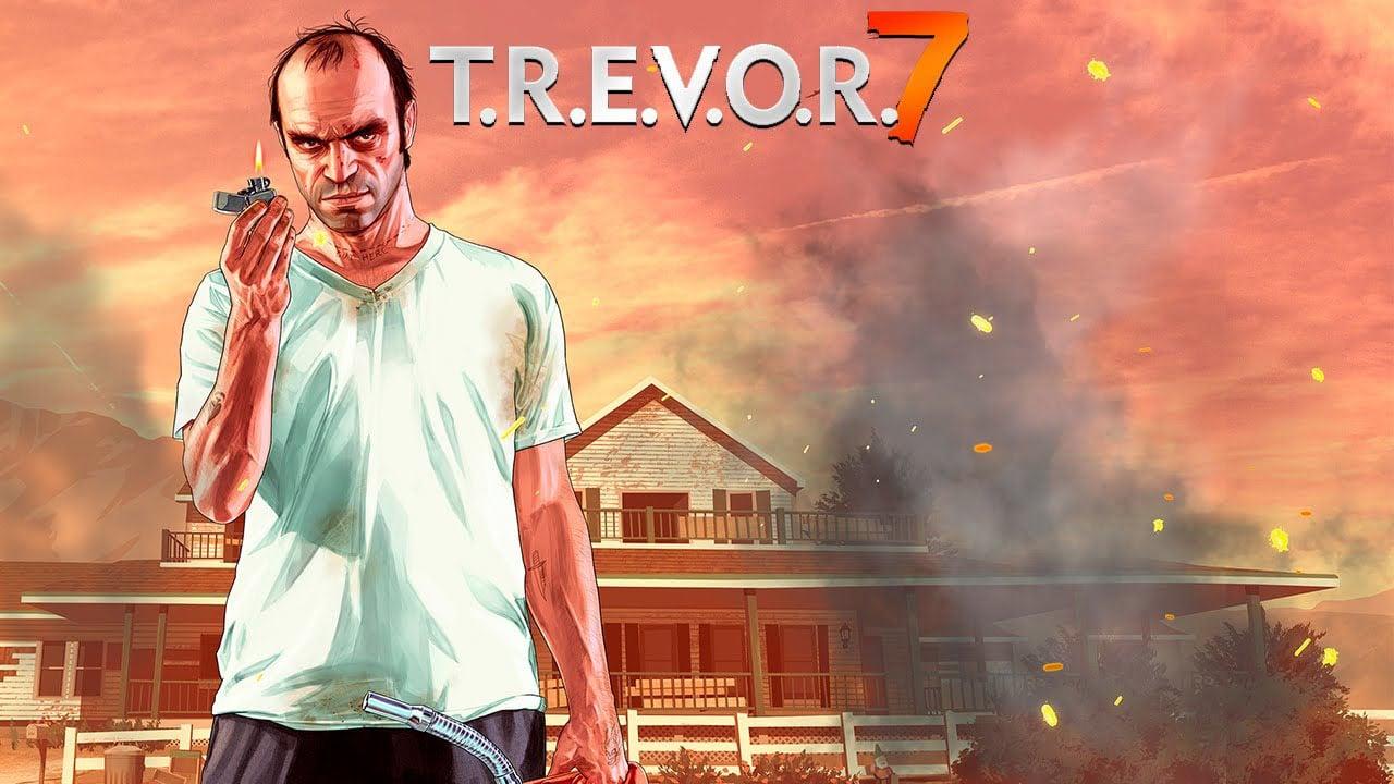 TREVOR 7 poster