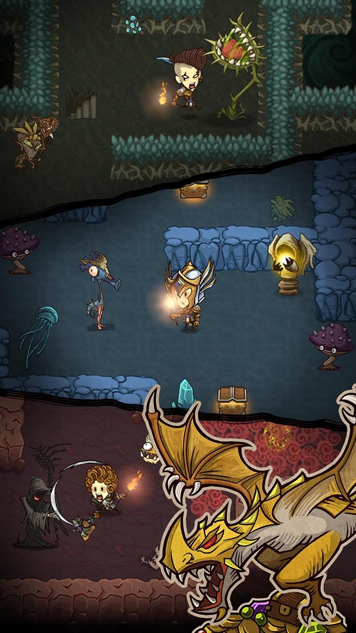 The Greedy Cave screen 1