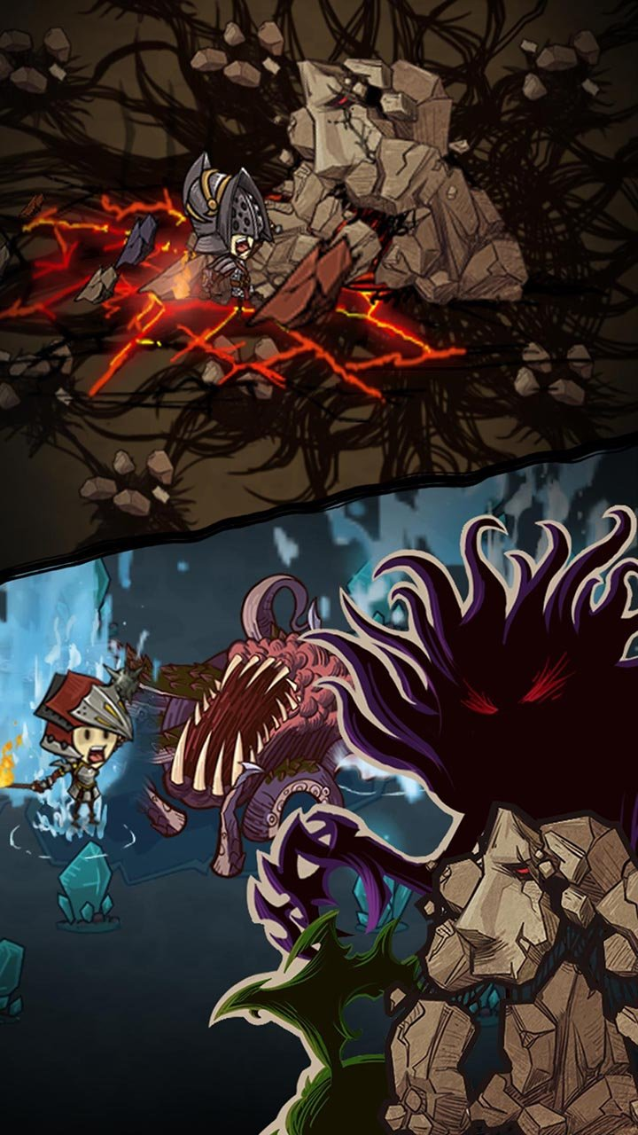The Greedy Cave screen 2