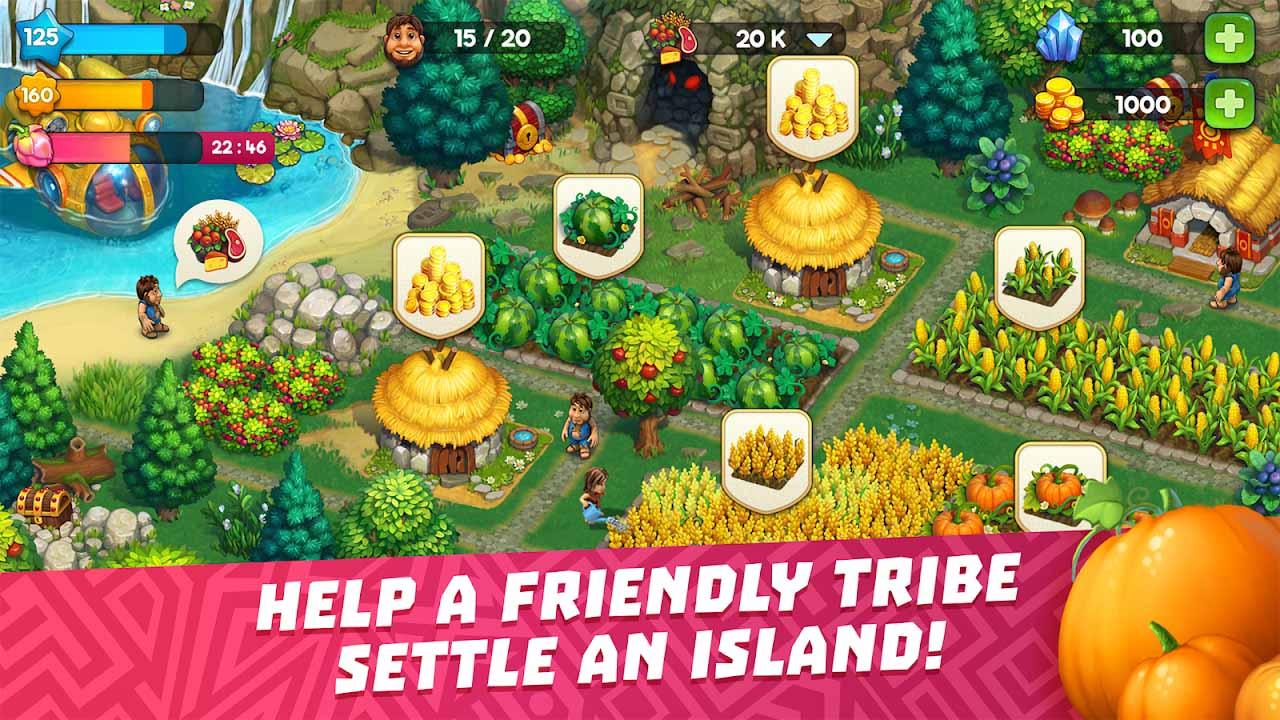 The Tribez screen 2