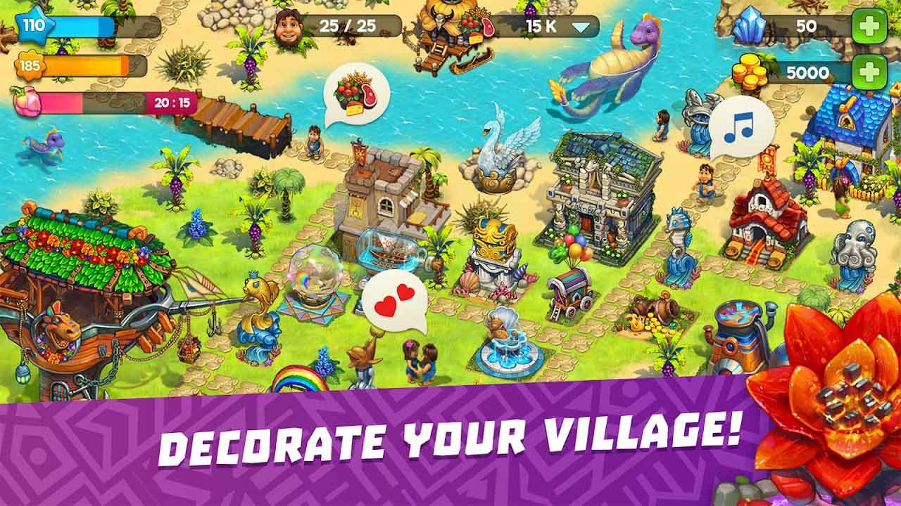 The Tribez screen 3