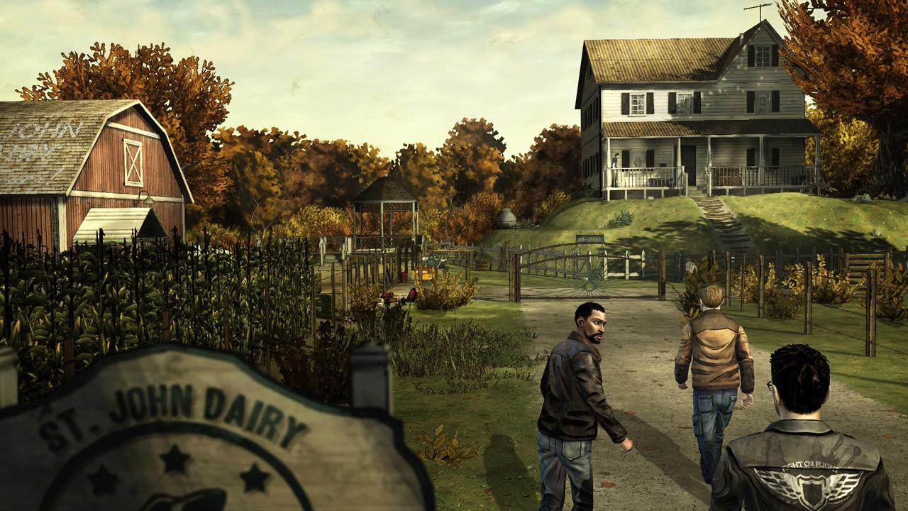 The Walking Dead Season One screen 3
