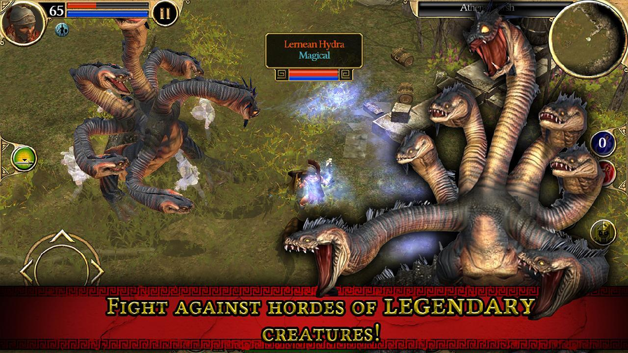 Titan Quest screen 1