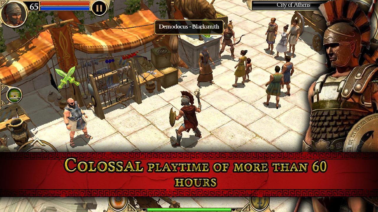 Titan Quest screen 2