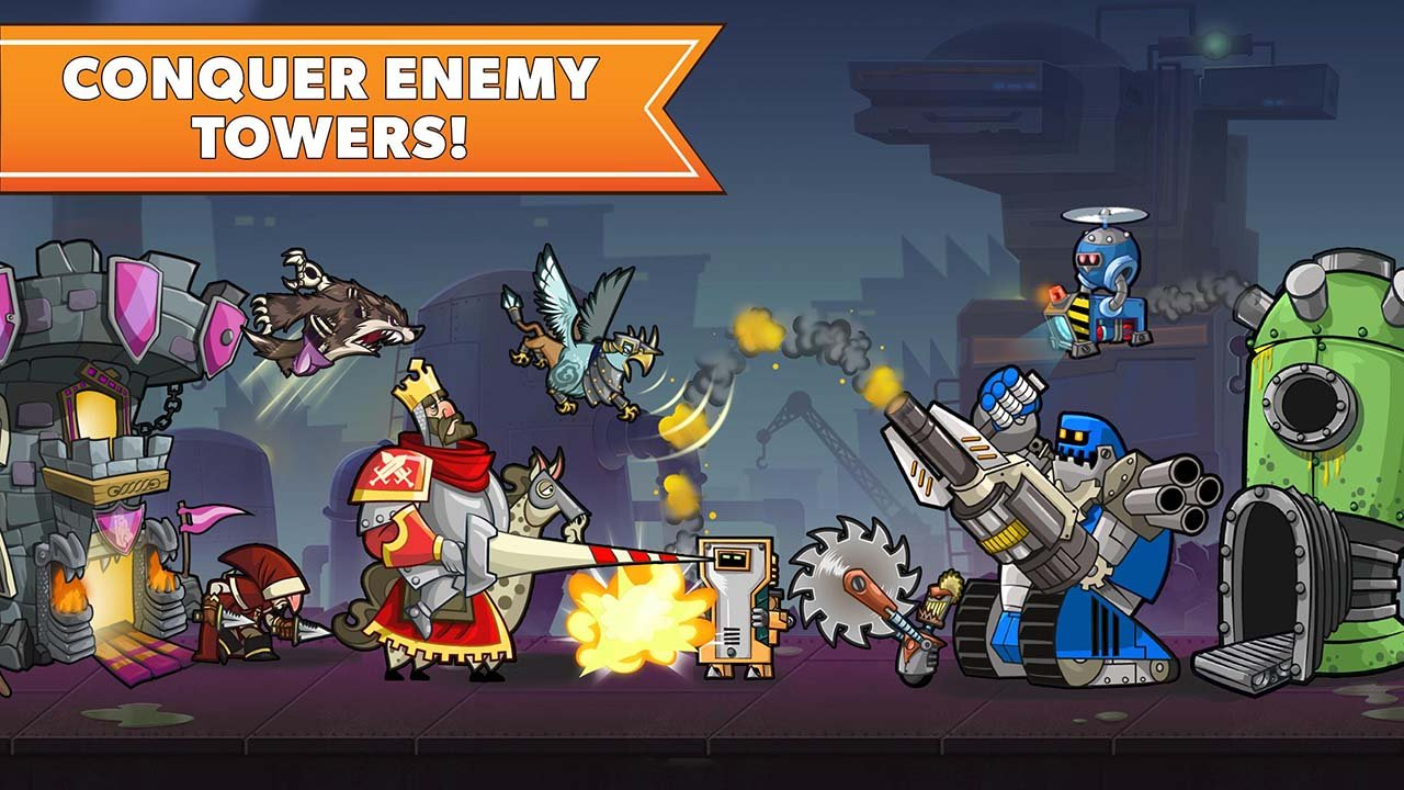 Tower Conquest screen 2