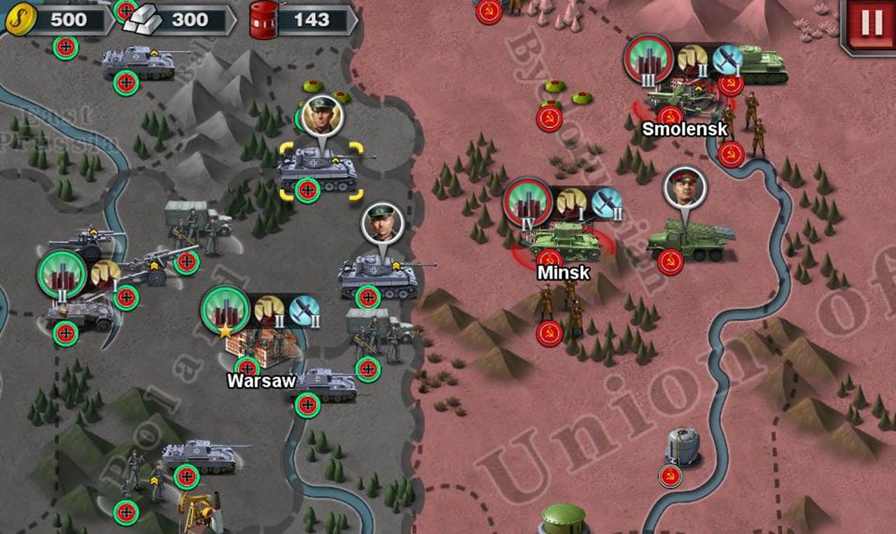 World Conqueror 3 screen 0