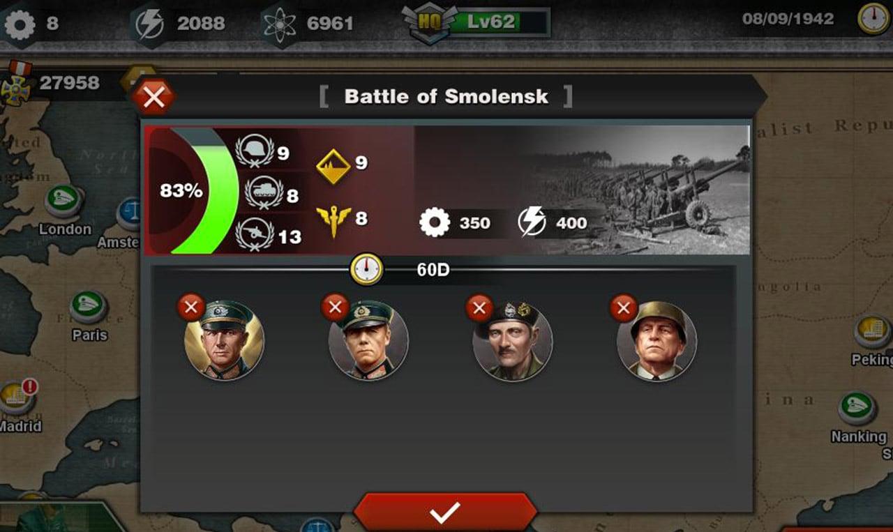 World Conqueror 3 screen 1